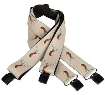Bretelles cerf avec clips d'attaches SOMLYS