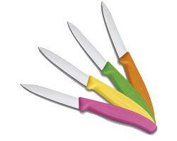 Pack 4 couteaux de table multi color VICTORINOX