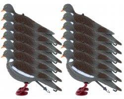 Pack 12 appelants pigeon ramier avec pattes