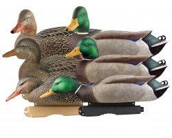 Pack 6 appelants canards colverts moussés HD GHG
