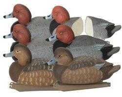 Pack 6 appelants canards milouins moussés HD GHG