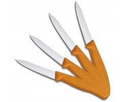 Pack 4 couteaux de table orange VICTORINOX