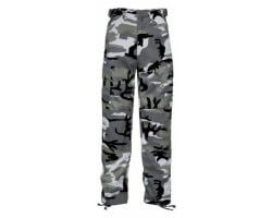 Pantalon camouflage gris enfant Percussion