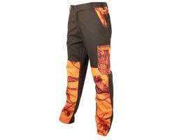 Pantalon de traque anti-ronce Maquisard camouflage orange Treeland