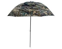 Parapluie de poste inclinable camouflage