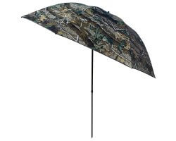 Parapluie de poste inclinable camouflage