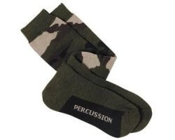 Chaussettes bouclettes camouflage PERCUSSION