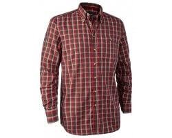 Chemise à carreaux rouge Chris DEERHUNTER