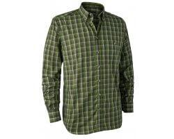 Chemise à carreaux verte Chris DEERHUNTER
