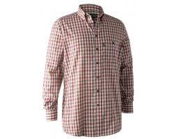 Chemise à carreaux rouge Marcus DEERHUNTER