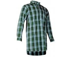 Chemise chasse à carreaux CONCOURS vert
