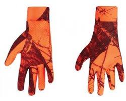 Gants de chasse Camouflage orange Blaze STAGUNT