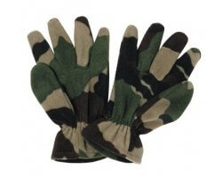 Gants polaires camouflage PERCUSSION
