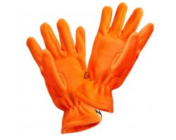Gants polaires orange fluo PERCUSSION