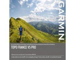 Carte Garmin TOPO FRANCE V5 PRO - FRANCE ENTIÈRE + DROM COM