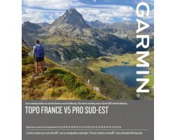 Carte Garmin TOPO FRANCE V5 PRO - SUD-EST