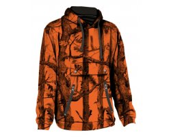 Sweat capuche GhostCamo Blaze orange PERCUSSION