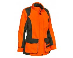 Veste de traque femme orange Stronger PERCUSSION