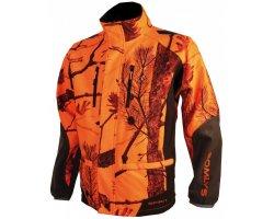 Veste camouflage orange Spirit Softshell SOMLYS