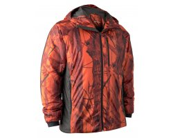 Veste matelassée camouflage orange compressible DEERHUNTER