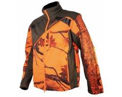 Veste softshell camouflage orange Newtek SOMLYS
