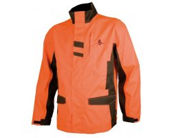 Veste de traque enfant orange SOMLYS