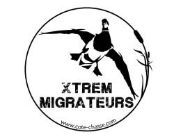 Autocollant canard colvert XTREM MIGRATEURS