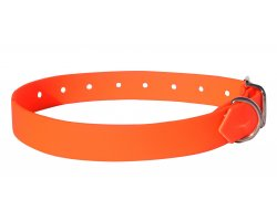 Collier PVC souple orange