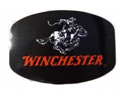 Autocollant Winchester noir et rouge