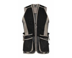 Gilet de tir ball-trap noir/beige EVO PERCUSSION