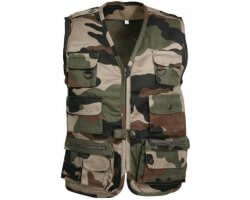 Gilet enfant camouflage Reporter PERCUSSION