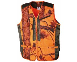 Gilet anti-ronce camouflage orange Spirit of Traque SOMLYS