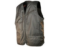 Gilet anti-ronce kaki Spirit of Traque SOMLYS