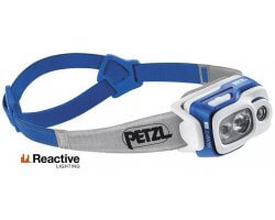 Lampe frontale multifaisceau Swift RL bleu PETZL