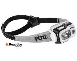 Lampe frontale multifaisceau Swift RL noir PETZL