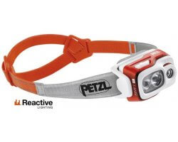 Lampe frontale multifaisceau Swift RL orange PETZL