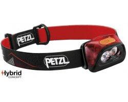 Lampe Frontale rechargeable rouge Actik Core PETZL