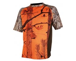 Tee-shirt camouflage orange 3DX SOMLYS