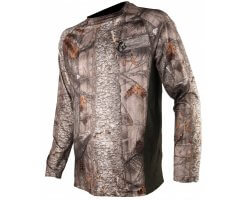 Tee-shirt manches longues camouflage bois 3DX SOMLYS
