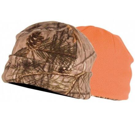 Bonnet réversible camouflage/orange SOMLYS