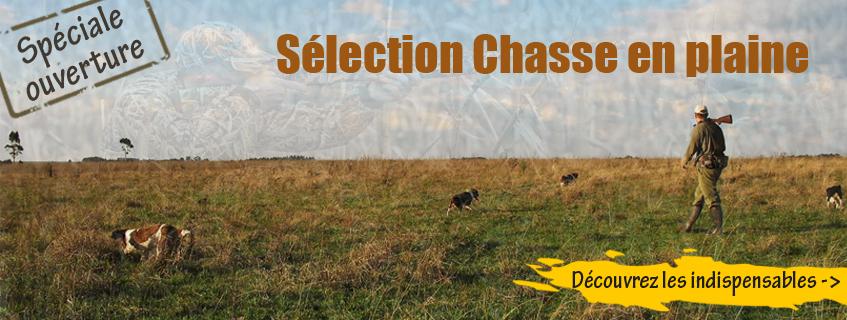 Sélection ouverture de la chasse en plaine