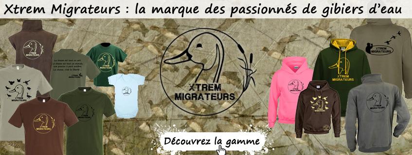 Vêtements Xtrem Migrateurs