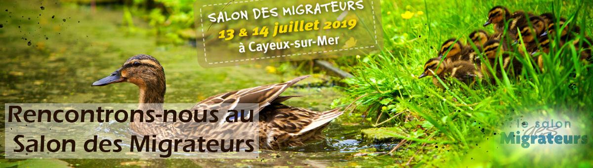 Côté Chasse participe au Salon des Migrateurs 2019
